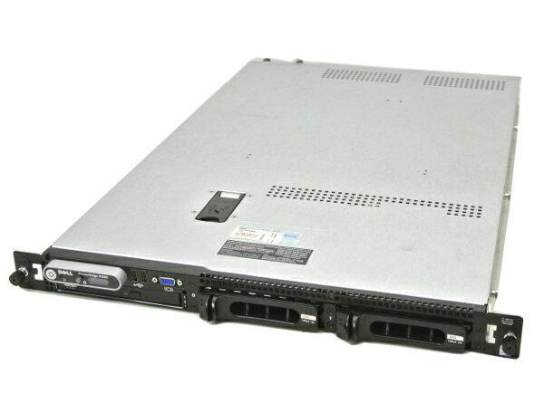 DELL PowerEdge R300 Core2Duo-1.86GHz/2G/146G*2/RAID/DVD/AC*2 【中古】【20150831】