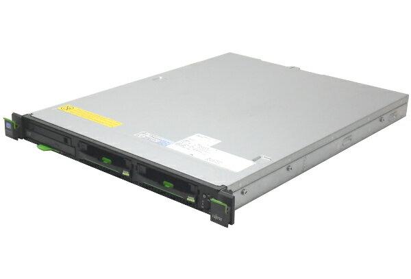 富士通 PRIMERGY RX100S7 Xeon E3 1220L 4GB 300GB*2 RAID DVD 【中古】【20170113】