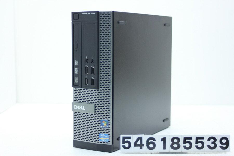 DELL Optiplex 7010 SFF Core i5 3570 3.4GHz/4GB/500GB/Multi/RS232C/Win10【中古】【20180620】