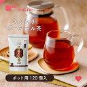スッキリ プーアール茶 ポット用 ティーバッグ 120個入 送料無料 プーアル茶 プアール茶 黒茶 ティーライフ