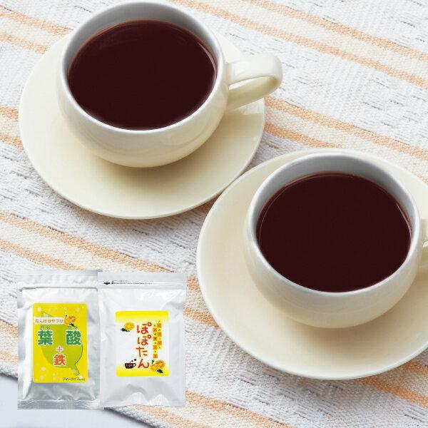 葉酸サプリ+たんぽぽコーヒーカップ用30個入マタニティサプリメント葉酸サプリ妊婦ハーブティーたんぽぽ