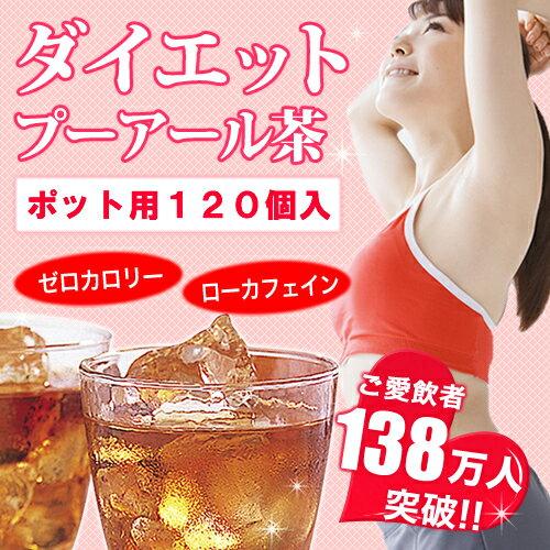 業務用 ダイエット プーアール茶(プーアル茶) ポット用120個入×50セット ダイエット茶 ダイエットティー ダイエット飲料 ティーライフ 茶 お茶 ティーバッグ ドリンク 20P03Dec16
