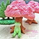 【カエル/コポー/copeau】桜の木の下でひと休み