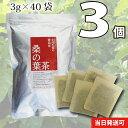 桑の葉茶 3個セット【くわのは茶】120g(40袋)無漂白ティーバッグ使用送料無料【当日発送可】※13時以降のご注文は翌日になります。