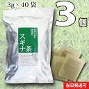 スギナ茶 3個セット〈すぎな茶〉120g(40袋)無漂白ティーバッグ使用送料無料【当日発送可】※13時以降のご注文は翌日になります。