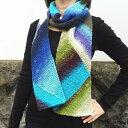 野呂英作のくれおぱとらで編む三角編みのマフラー 野呂英作 手編みキット 人気キット