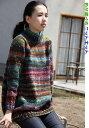 野呂英作の琴で編むシンプルなゆったりセーター 手編みキット 人気キット