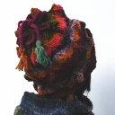 野呂英作のくれよんで編むでこぼこが面白い☆スパイキー柄の帽子【ニットキット】