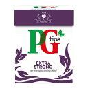 PG Tips ピージーティップス エクストラストロング ピラミッド型 ティーバッ 80袋入x2箱 ミルクティー