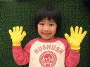 カラー軍手 日本製 綿100%[幼児6色セット]メール便送料無料【smtb-KD】子供用 カラー手袋