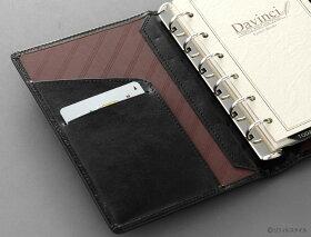 システム手帳「ダ・ヴィンチ」ポケットサイズDP3008ポケット