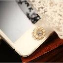 デコ パール ホームボタンiPhone6 plus ipad...