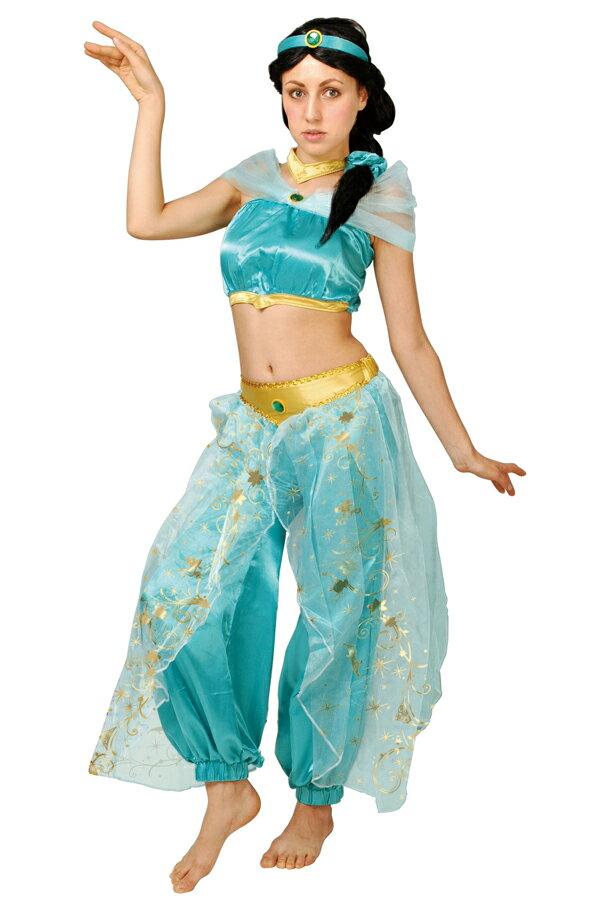 ディズニーキャラクター コスプレ セット コスチューム 大人 アラジン Aladdin ジャスミン JASMINE プリンセス  PRINCESS ハロウィン Walt Disney 可愛い