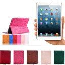 【メール便送料無料】 iPad mini4 iPad mini3 iPad mini2 iPad mini iPad Air2 iPad Air ケース アイパッドミニ4 アイパッドエアー2 タブレット カバー レザー スタンド機能 かわいい おしゃれ ガーリー ポップ 型押し アニマル リボン フラワー オートスリープ