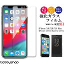 ガラスフィルム iPhone XS Max iPhone XS iPhone XR iPhone X iPhone8 Plus iPhone7 iPhone6s iPhone6 強化ガラスフ…