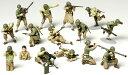 タミヤ 1/48ミリタリーミニチュアシリーズNo.13 WWII アメリカ歩兵 GIセット