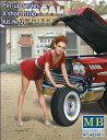 マスターボックス MB24017 1/24 ピンナップシリーズ ショートストップ ミニスカート+トランク