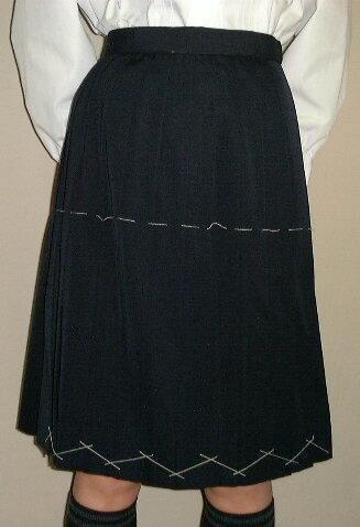 PS02Big紺冬スカートBigサイズ