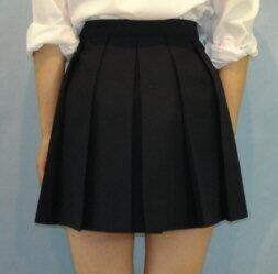 12H-N01ネイビースカートオシャレな12箱...の紹介画像2