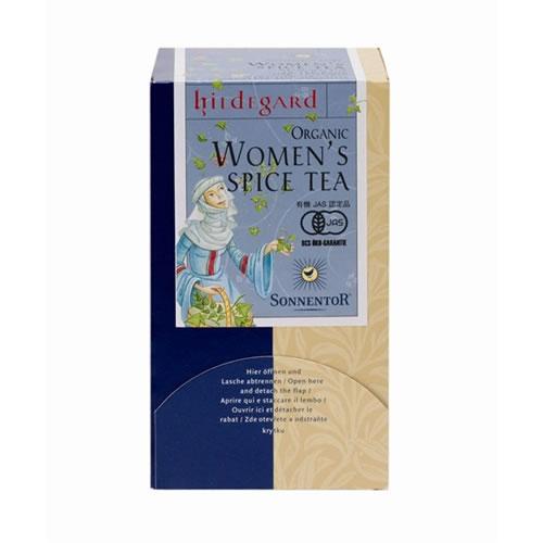 ゾネントア 女性のためのお茶 ウーマンズスパイスティー 18袋ティーバッグ