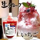 天然フルーツのかき氷シロップ【冷蔵】 氷屋さんちの削氷 〔けずりひ〕生シロップ