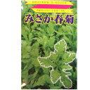 在来種/固定種/野菜のタネ「みさか春菊15ml(約2400粒)」畑懐〔はふう〕の種【メール便可】