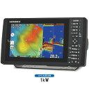 【代引手数料無料】 ホンデックス (HONDEX) プロッター魚探 HDX-9S 9型ワイド液晶 【GPS内蔵仕様・出力1kW】
