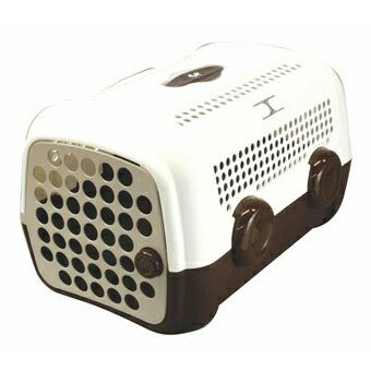 ユナイテッド ペッツ キャリーケース ホワイト/ブラウン AUTO/オート UNITED PETS UP1150 W/BR  ユナイテッド ペッツ キャリーケース ホワイト/ブラウン AUTO/オート UNITED PETS UP1150 W/BR