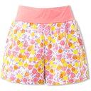 【エレッセ】 ダブルクロスショーツ(P) レディーステニスウェア [サイズ:L] [カラー:ピンクプリント] #EW29111P-PP 【スポーツ・アウトドア:テニス:レディースウェア:ハーフパンツ・ショートパンツ】【ELLESSE Double Cloth Shorts(P)(Womens)】