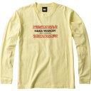 【5%off+最大3000円offクーポン(要獲得) 10/22 9:59まで】 【送料込み(沖縄・離島を除く)】 ロングスリーブ Tシャツ(メンズ) HAKA WARCRY [サイズ:L] [カラー:ソフトクリーム] #RA49131-51 【カンタベリー: スポーツ・アウトドア ラグビー ウェア】【CANTERBURY】