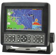 【プロッター魚探】Hondex(ホンデックス) 魚群探知機 HE-601GPII 【《GPSアンテナ内蔵》・5型ワイドカラー液晶】【P20Aug16】