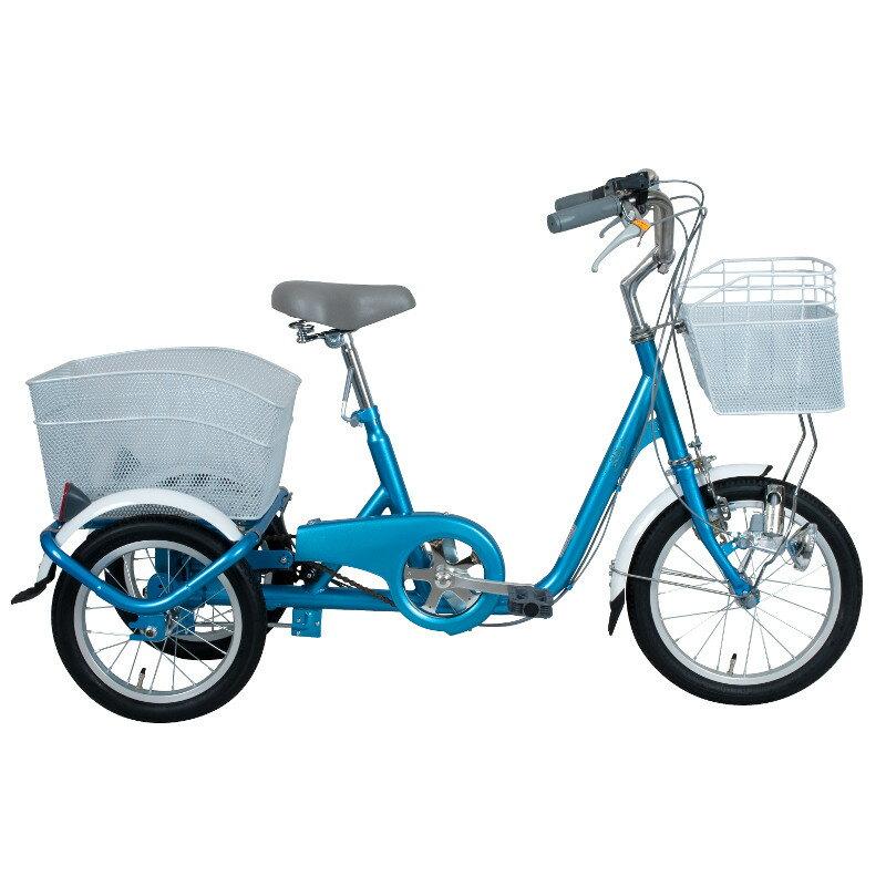 【2017年7月上旬頃入荷予定】ミムゴ ロータイプ三輪自転車 SWING CHARLIE(スイングチャーリー) MG-TRE16SW-BL ブルー【き】 三輪自転車 MG-TRE16SW-BL MGTRE16SW-BL ブルー