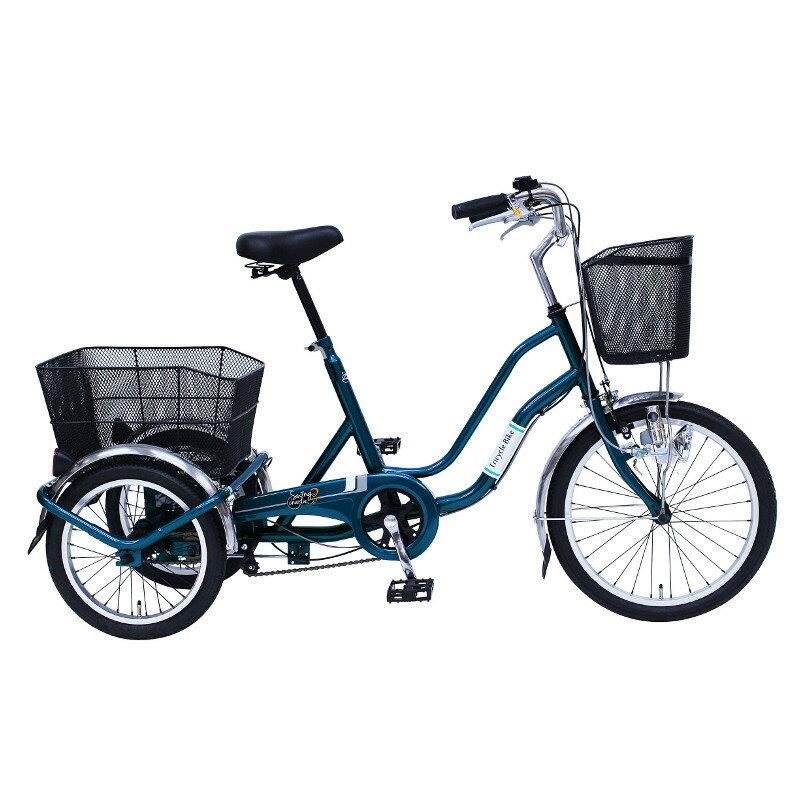 【2017年7月中旬頃入荷予定】ミムゴ 三輪自転車 SWING CHARLIE2(スイングチャーリー2) MG-TRW20E ティールグリーン【き】 三輪自転車 MG-TRW20E MGTRW20E ティールグリーンプロモーション