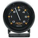 低回転用 タコメーター オートメーター アメ車に ラムバン アストロ 6000回転6千 限定セール中!