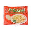 台湾土包子手工葱酥抓餅・葱油抓餅(手作りネギパンケーキ) 中...
