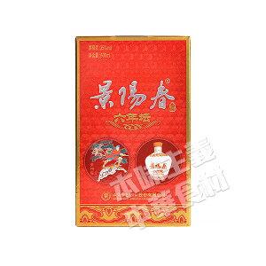 中国景芝景陽春六年壇濃香型白酒35度 500ml 中国名