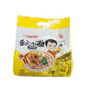 中国産 光友重慶小麺牛肉麺(即席メン105g*4袋入)420g