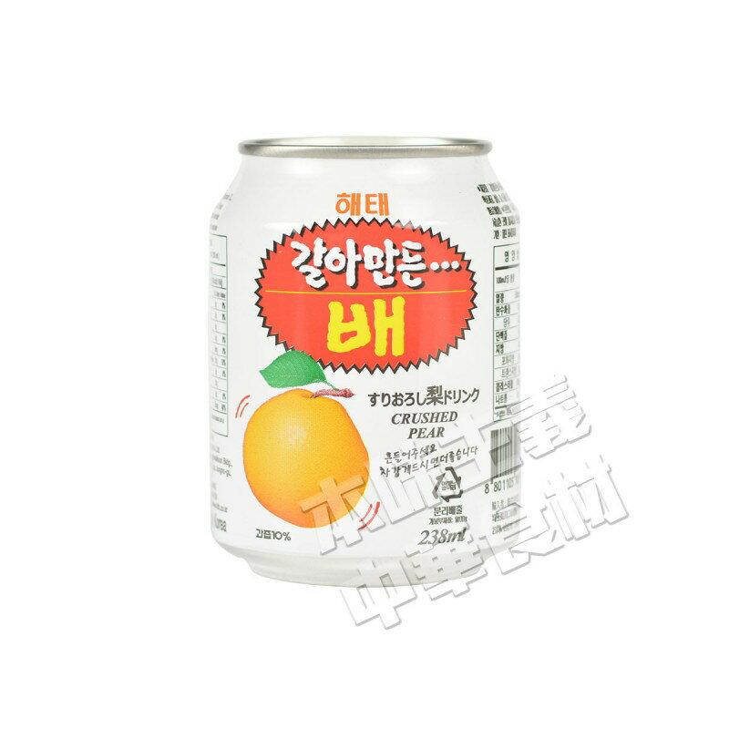 ヘテ梨ジュース(果肉入り)238ml 韓国食材/韓国料理/韓国土産/なし/ドリンク