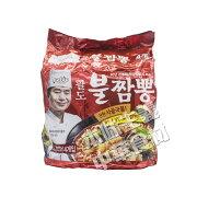 Paldo李連福海鮮ブルチャンポン4袋入り