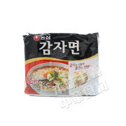NONGSHIMカムジャ麺土豆麺(即席メン117g*5袋入)585g/インスタントヌードル/便利/韓国食品/じゃがいも/即席麺