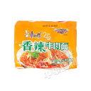 康師傅シリーズ康師父香辣牛肉麺(100g*5pc) 激辛ラー