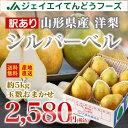 《訳あり》山形県産西洋梨シルバーベル約5kg(6〜10玉入り...