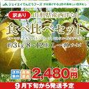 【訳ありお買い得品】山形県産西洋梨食べ比べセット約3kg(8-12玉)【送料無料】※一部地域は別途送料追加