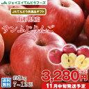 りんご ギフト 送料無料 サンふじ 秀品 約3kg(7〜12玉) JAてんどう共選品 ※一部地域は別途送料 お歳暮 t15