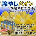 【タイ産】パイナップル スティック 1号缶(内容個数:53〜57本×6缶入り) ケース売り[