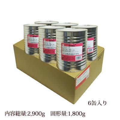 たけのこ 水煮 千切り 1号缶(固形量:1800g×6缶入り)ケース売り[天狗缶詰/業務用/中華食材]