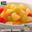 【文化祭・イベントにおすすめ】フルーツカクテル 南アフリカ産 2号缶(固形量:500g)バラ売り[天狗缶詰/業務用/フルーツポンチに]