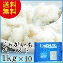 じゃがいもペースト 1kg×10 天極堂 ジャガイモ 和食 洋食 国産 北海道産 ポテトサラダ