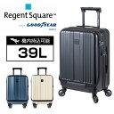 ショッピングホイール リージェントスクエア STORM フロントオープン スーツケース Regent Square キャリーケース 機内持込 39L 軽量 3.1 ストーム