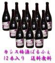 【送料無料】 レアカシス梅酒 ぱるふぇ   9度 720ml×12本入り 【送料無料】